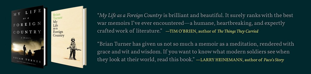 brian turners the hurt locker essay His iraq poetry gave the hurt locker its name but can ex-soldier brian turner ever move on sarah crown finds out.
